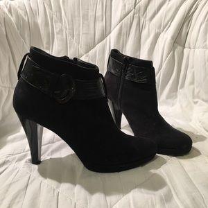 "Vero Cuoio 4"" Suede Heeled Boots"